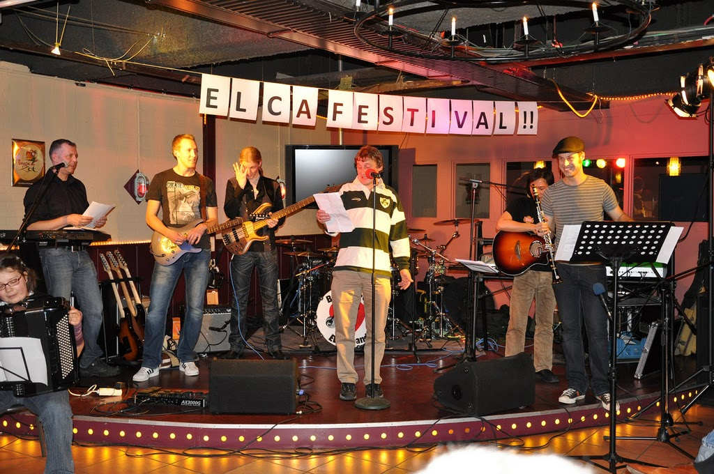 Paddy at ELCA festival