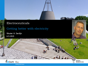 Lecture on Electroceuticals: getting better with electricity